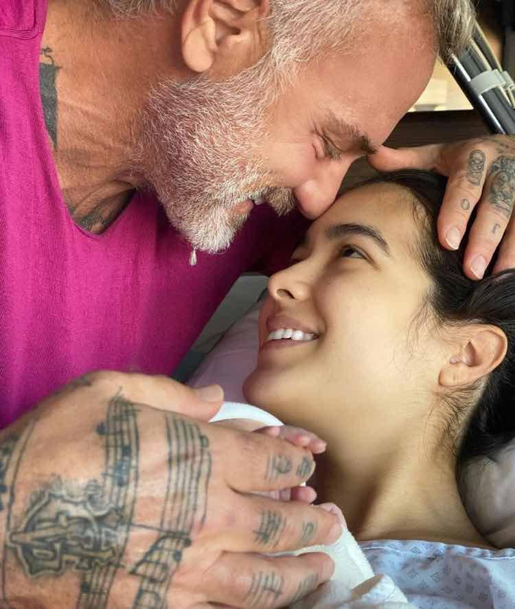 Gianluca Vacchi e Sharon Fonseca