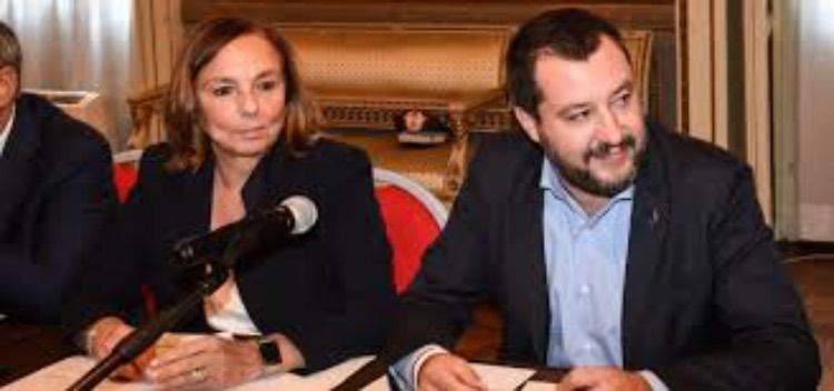Luciana Lamorgese e Matteo Salvini