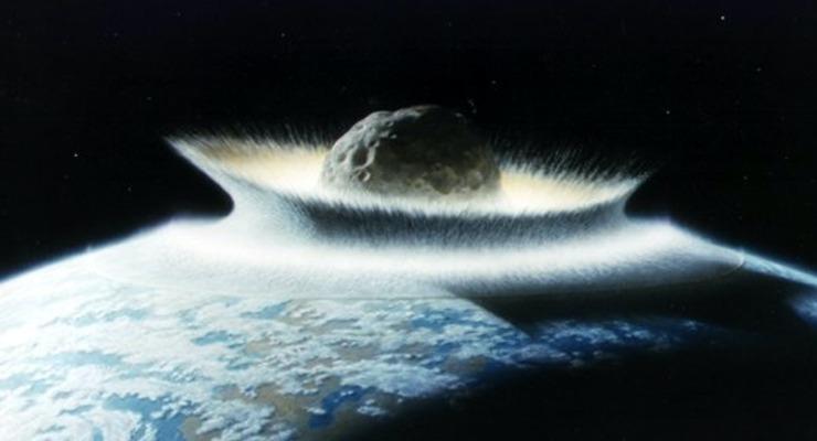 impatto asteroide sulla terra