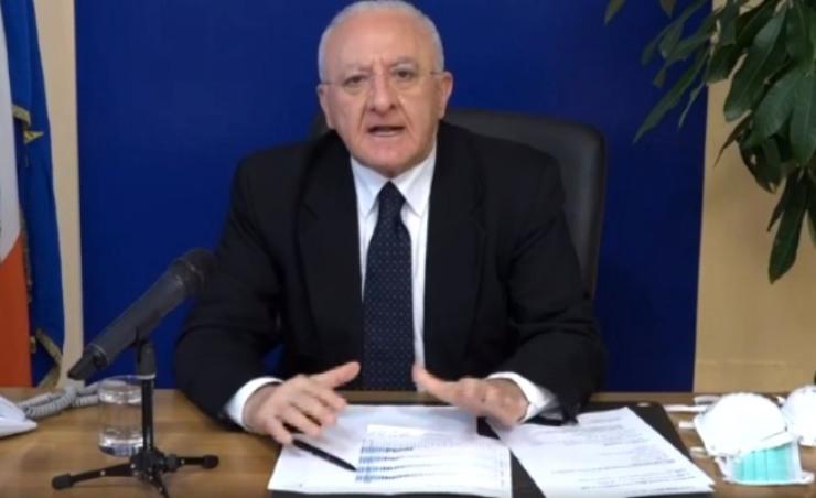 Vincenzo De Luca Presidente