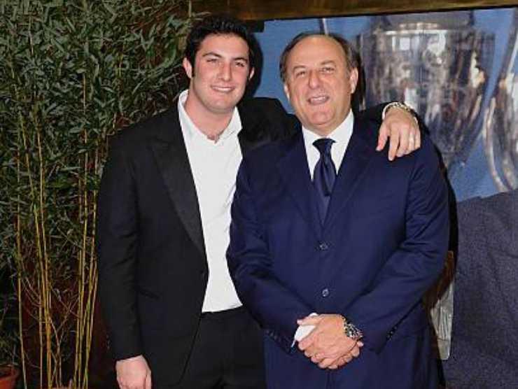 Gerry Scotti e Edoardo Scotti
