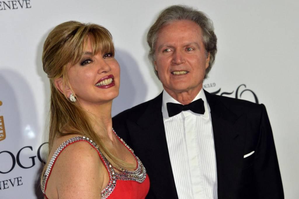 Milly Carlucci sposata da 35 anni