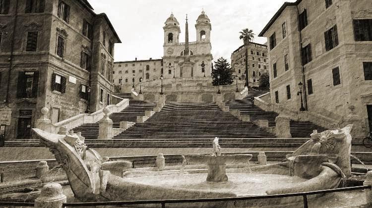 Roma durante il lockdown
