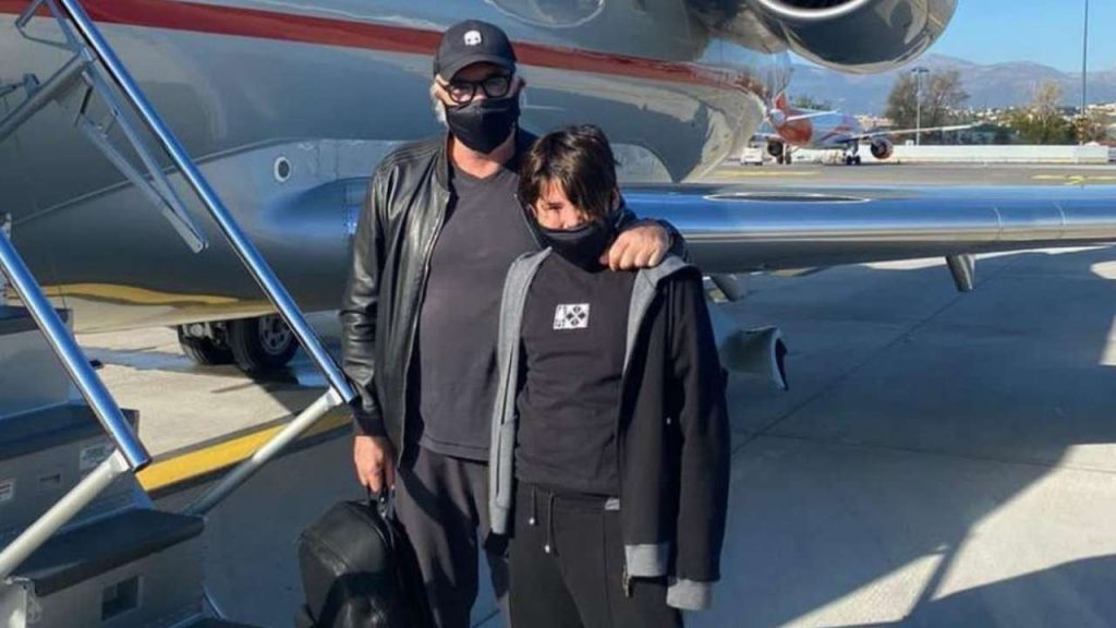 Flavio Briatore e Nathan