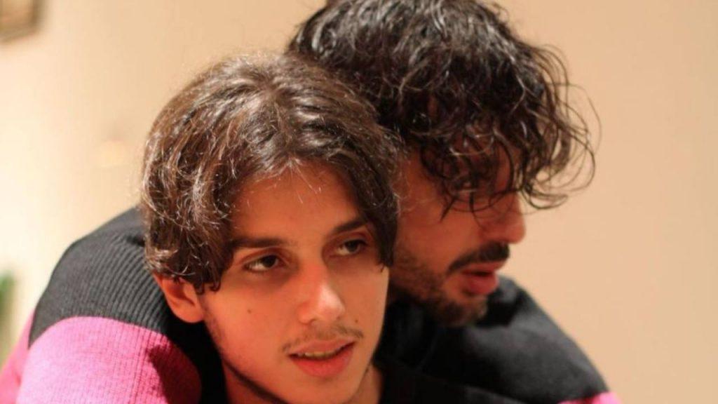 Fabrizio Corona e Carlos Maria