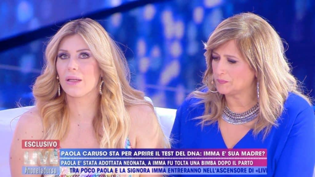 Paola Caruso e mamma Imma
