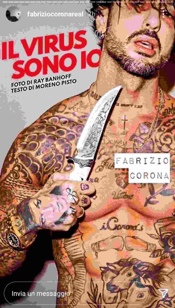 Fabrizio Corona virus