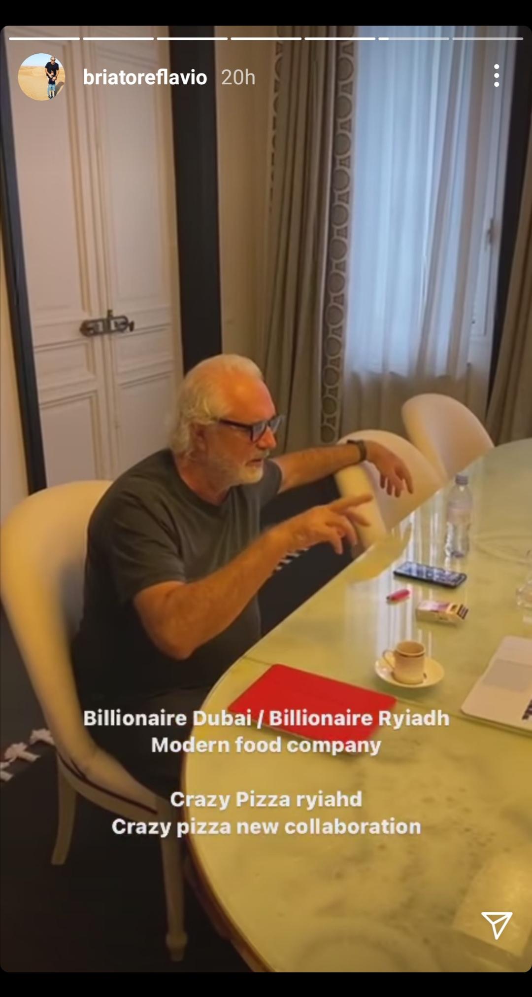 Flavio Briatore e i suoi affari