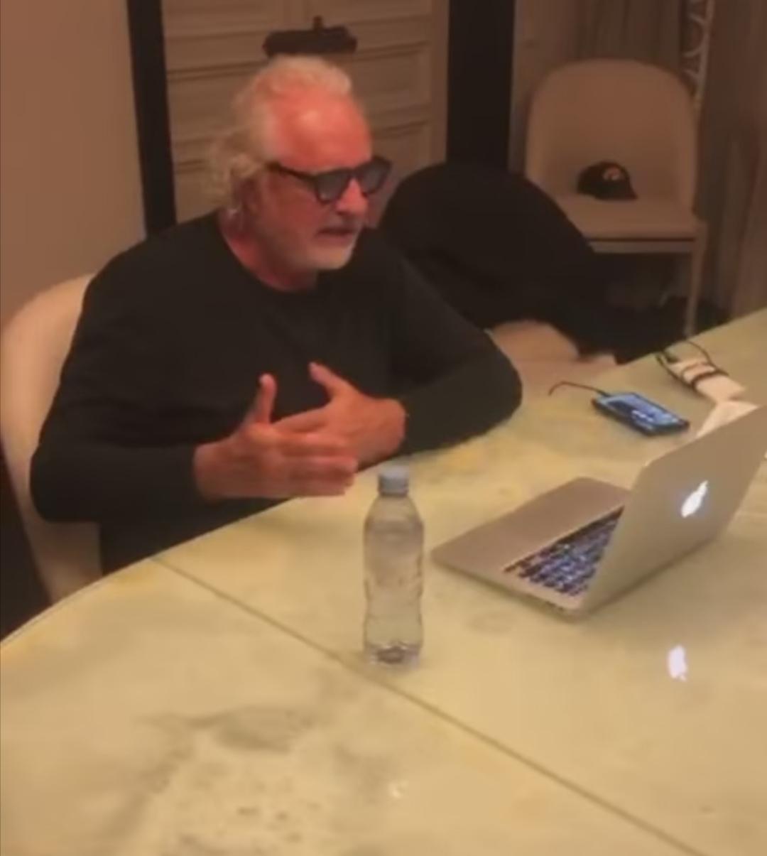 Flavio Briatore e l'intervista in radio
