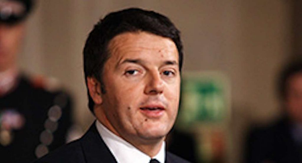 Matteo Renzi contro Conte