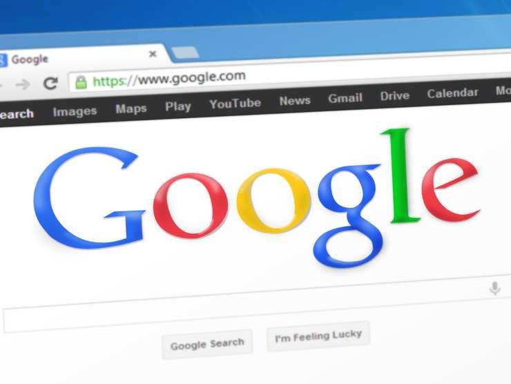 Motore di ricerca google (da pixabay)