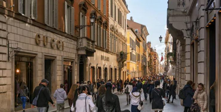 Roma shopping Gucci