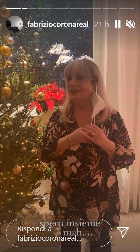 La mamma di Fabrizio Corona