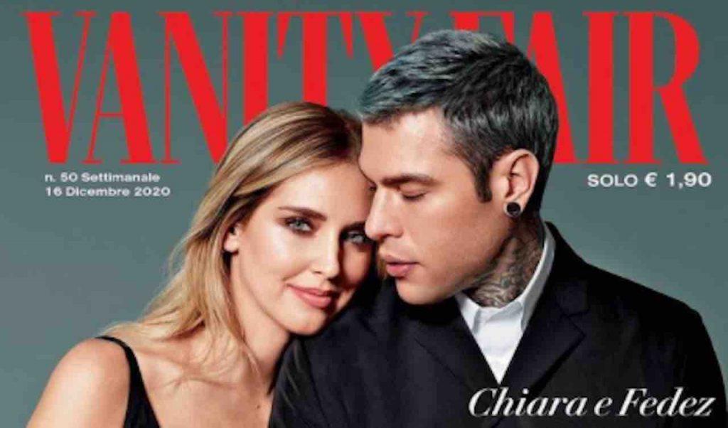 Chiara Ferragni e Fedez Vanity Fair
