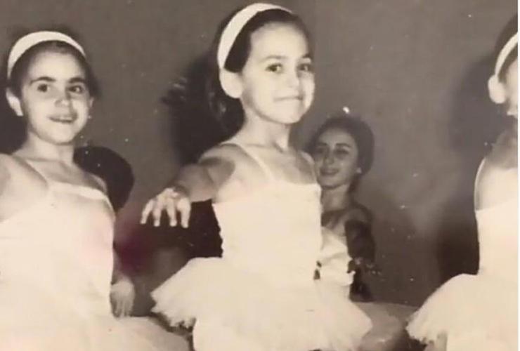 Barbara D'Urso ballerina classica
