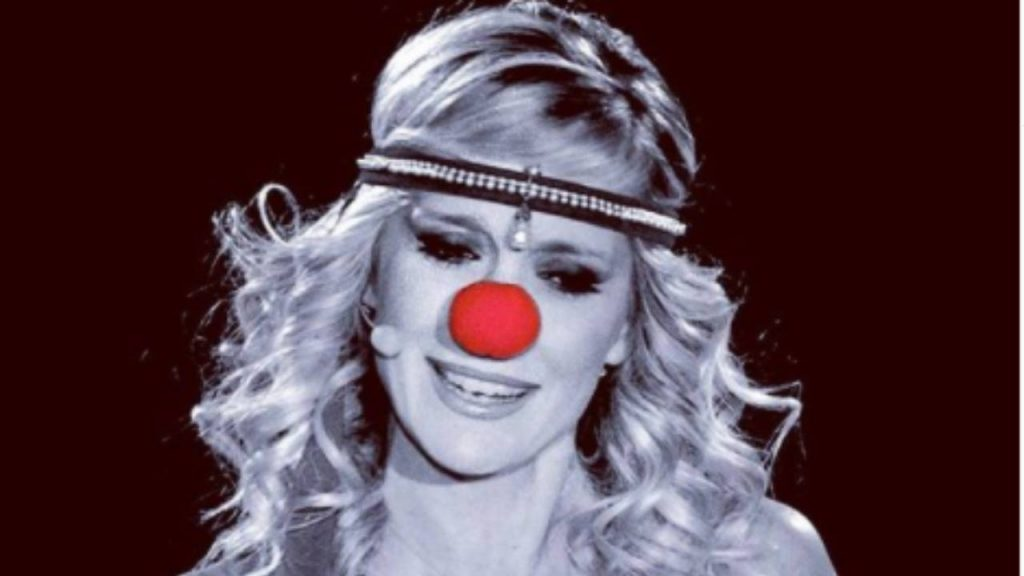 Brigitta Boccoli al circo
