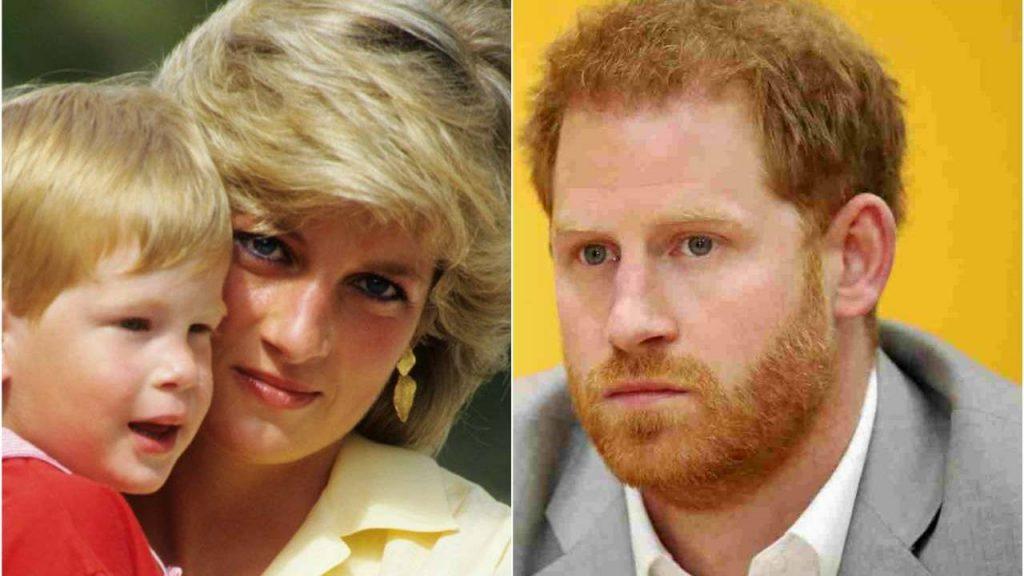 Il principe Harry e Lady D