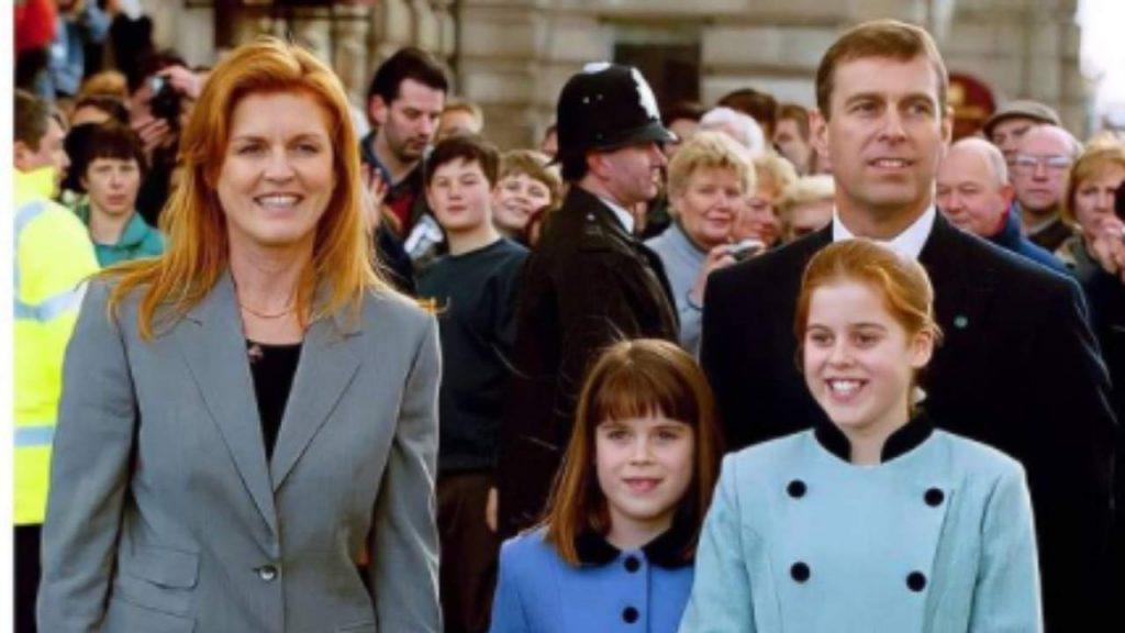 Sarah Ferguson e la famiglia