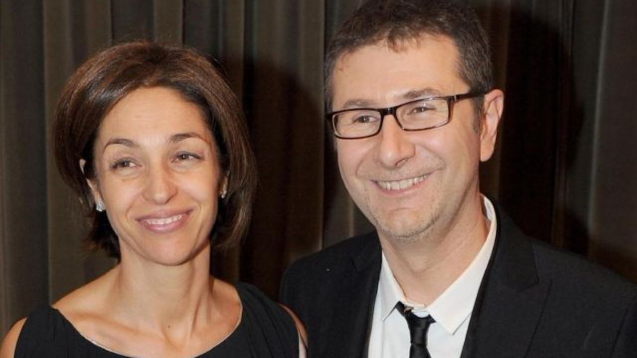 Fabio Fazio e Gioia Selis
