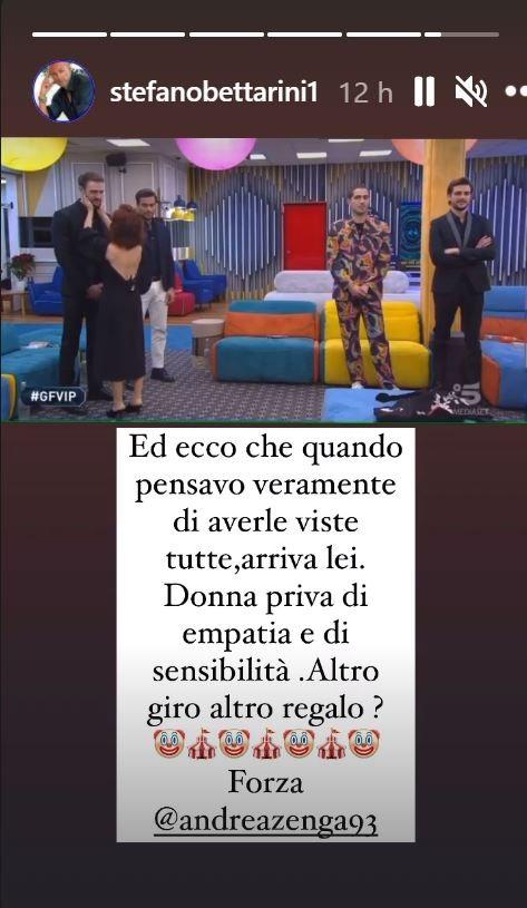 Stefano Bettarini su Instagram