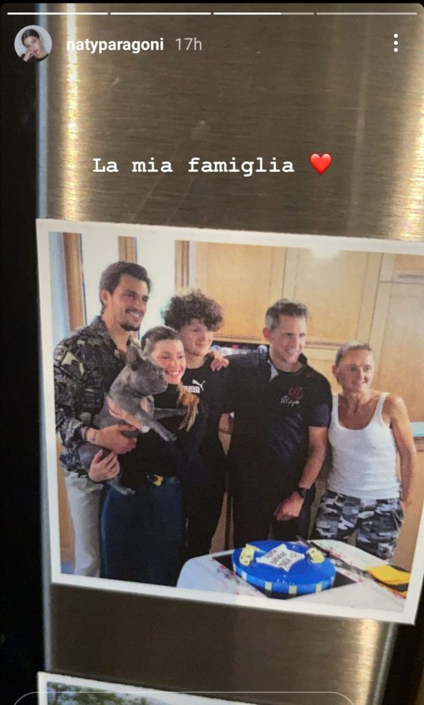 La foto di famiglia di Natalia