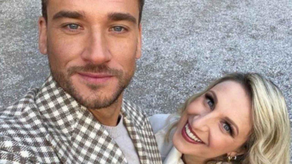 Damiano Carrara e Katia Follone