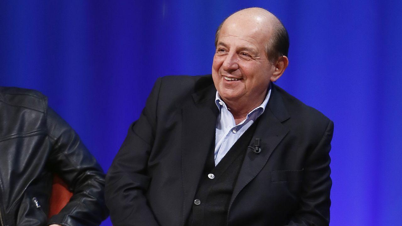 Giancarlo Magalli sorridente