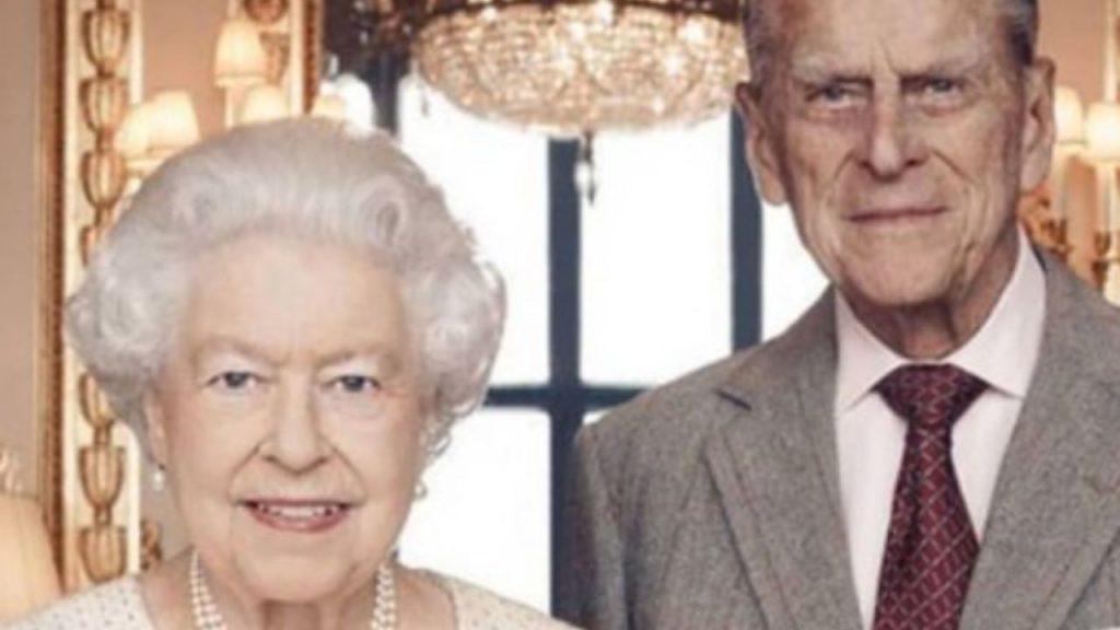 Il principe Filippo e la regina Elisabetta