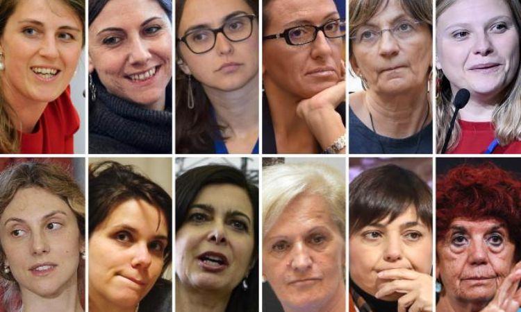 Le donne della galassia democratica