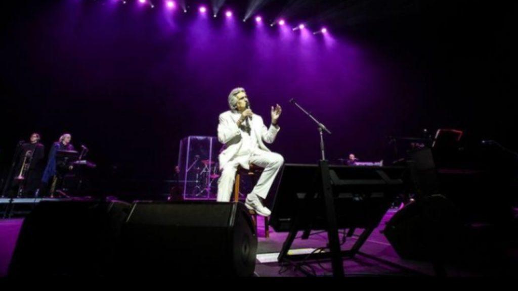 Toto Cutugno sul palco