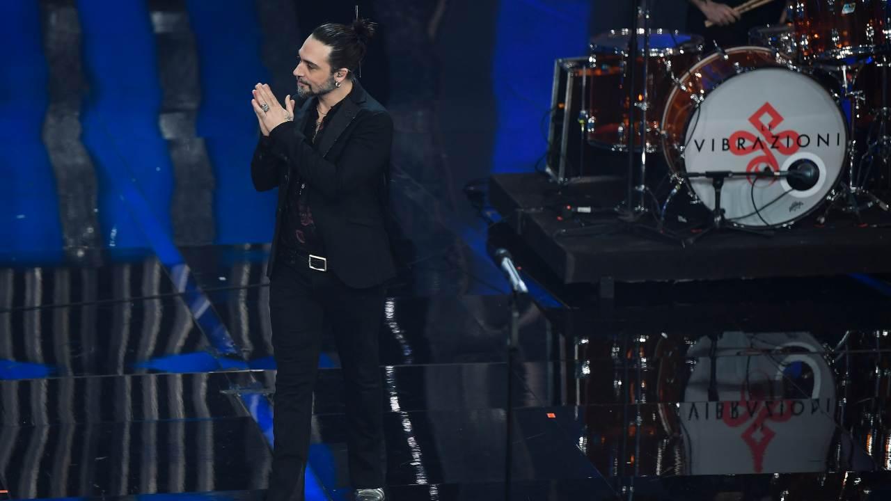 Francesco Sarcina sul palco