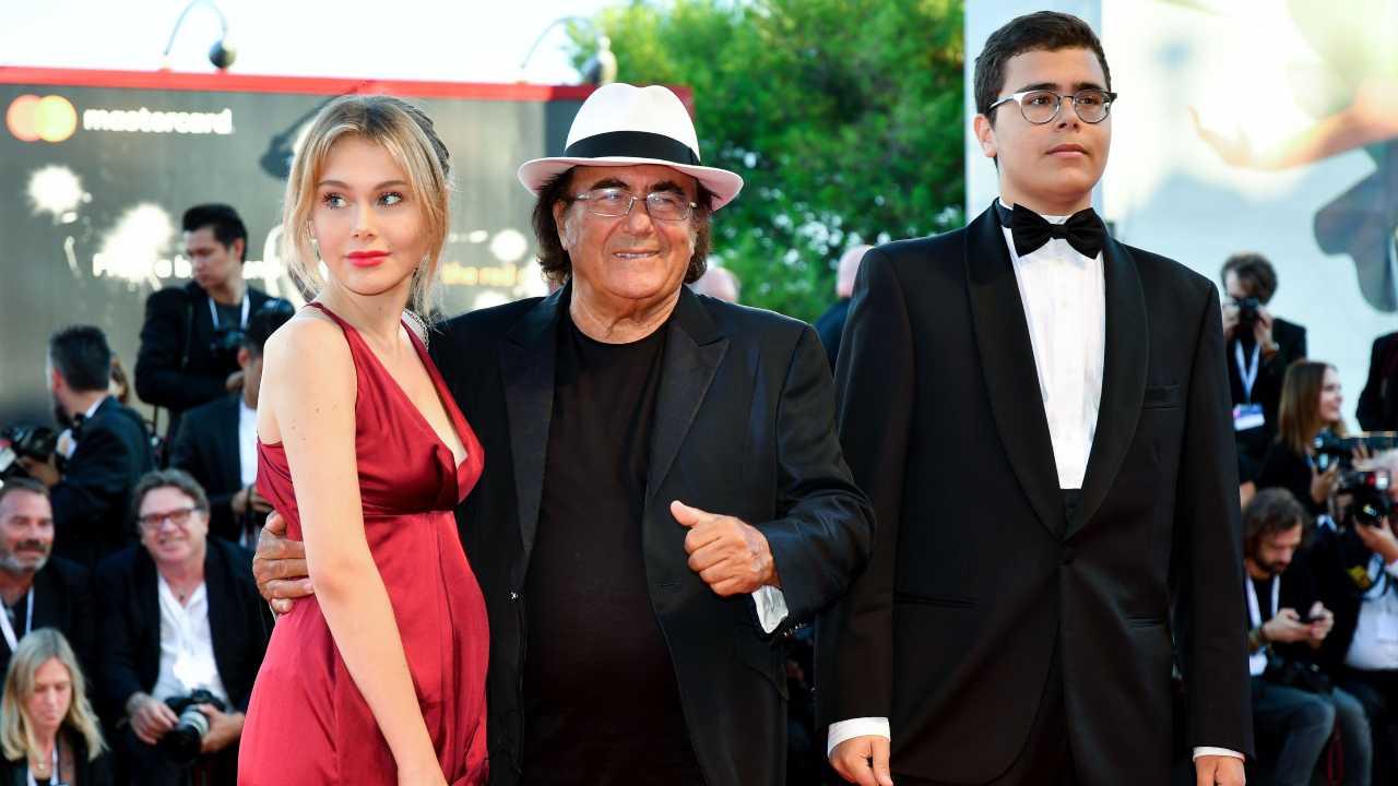 Jasmine Carrisi, Albano ed Albano jr