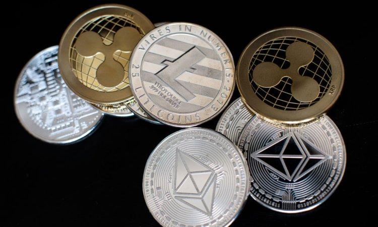 Litecoin ed Ethereum in moneta