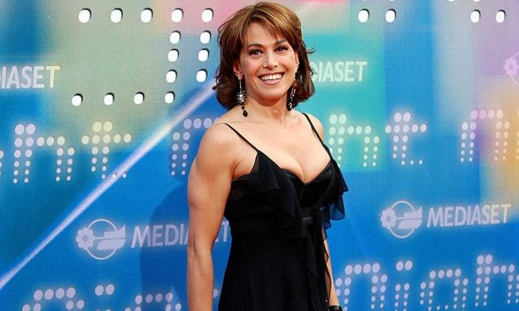 La conduttrice tv Barbara D'Urso