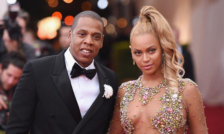 Bayoncè, a destra, e Jay-Z, a sinistra