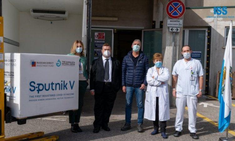 San Marino riceve le dosi dello Sputnik