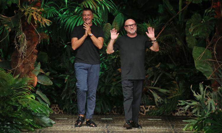 Dolce e Gabbana fra le piante