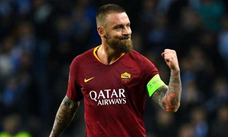 L'ex capitano della roma Daniele De Rossi