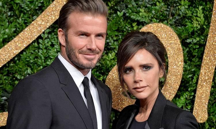 David Beckham e sua moglie Victoria