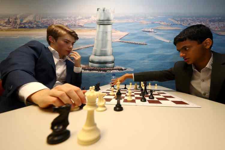 Due giocatori di scacchi (Getty Images)
