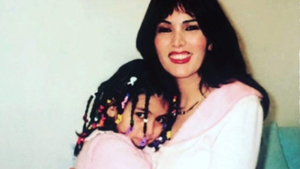 Fariba e Giulia Salemi- mamma e figlia
