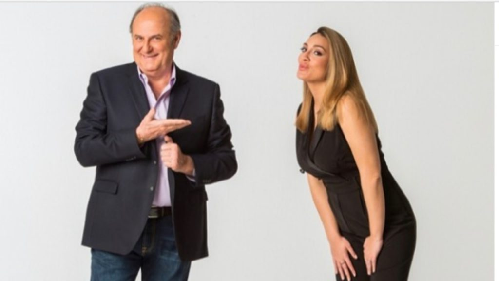 Francesca Manzini e Gerry Scotti