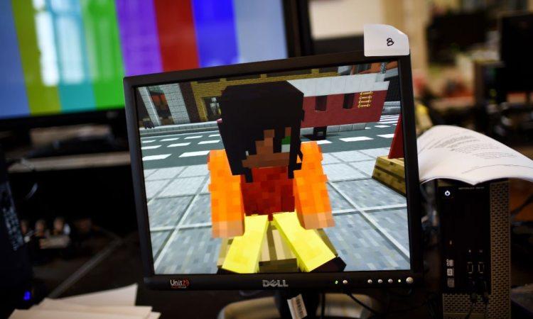 Personaggio di un gioco virtuale