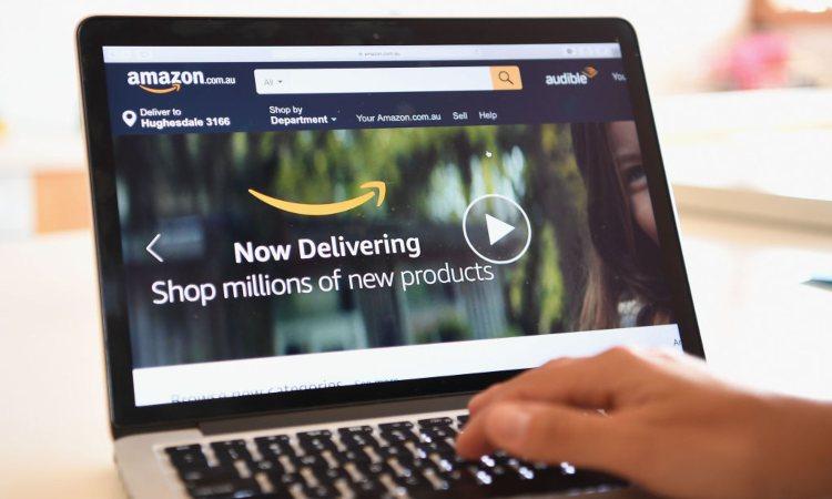 Home page di Amazon