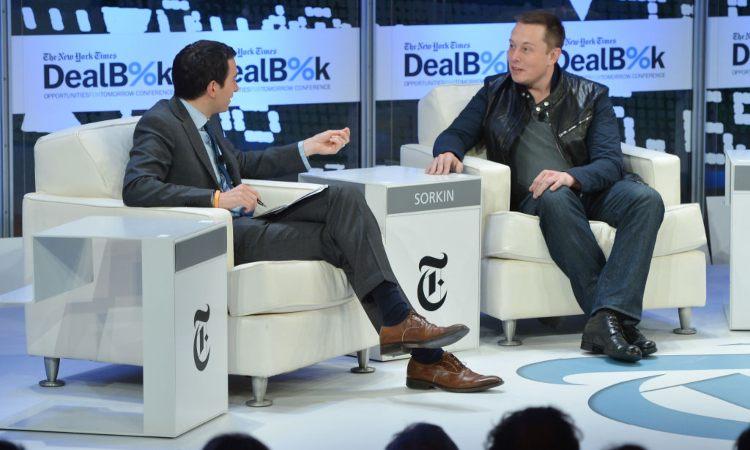 Elon Musk Ceo di Space e Tesla