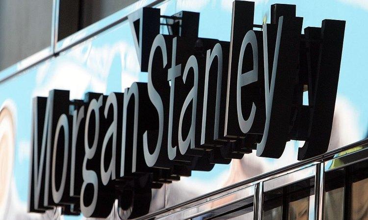 Insegna della banca statunitense Morgan Stanley