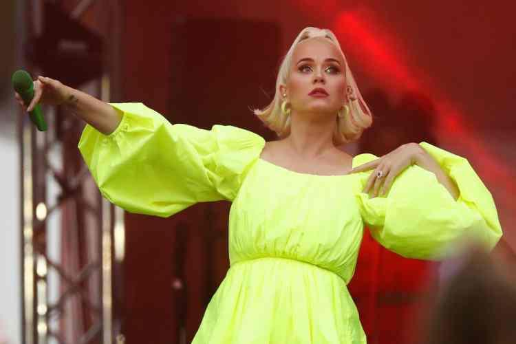 Katy Perry in una sua esibizione