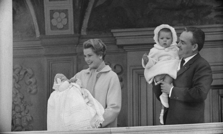La royal family del Principato di Monaco