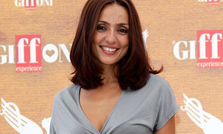 La conduttrice televisiva e radiofonica Ambra Angiolini