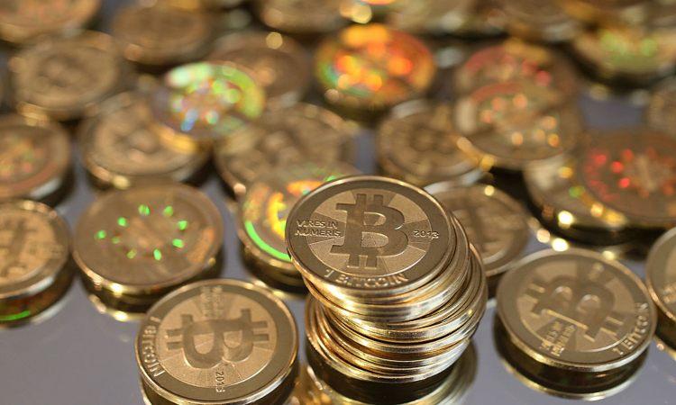 Delle monete di Bitcoin